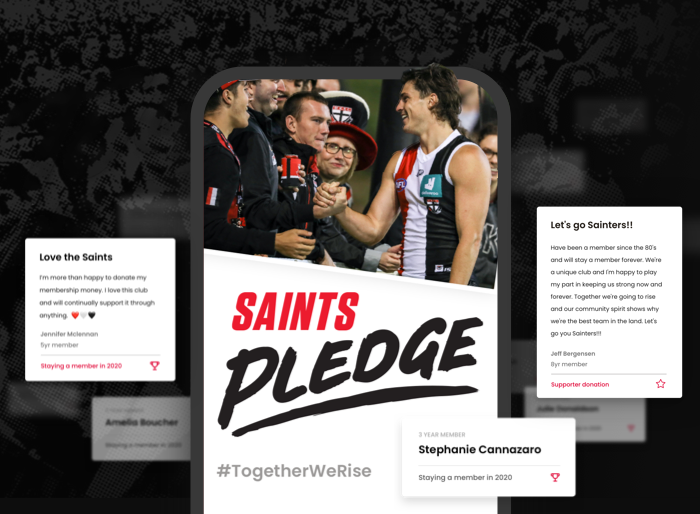 Saints Pledge